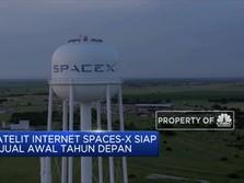 Tahun Depan, Satelit Internet Space-X Siap Dipasarkan