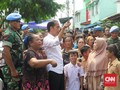 Loreng-loreng Pengawal Jokowi saat Aksi 22 Mei