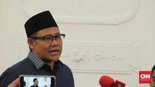 Cak Imin Sodorkan 20 Nama ke Jokowi untuk Jadi Menteri