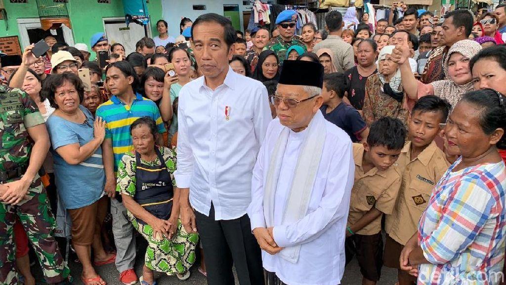 Isi Lengkap Pidato Kemenangan Jokowi-Ma'ruf Amin