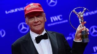 Juara Dunia MotoGP dan F1 Berduka untuk Niki Lauda