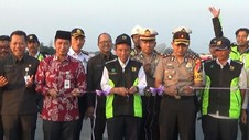 VIDEO: Jembatan Tanggulangin Pantura Resmi Dibuka untuk Umum