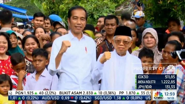 Ini alasan Jokowi pilih pidato kemenangan di depan warga Kampung Deret