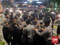 Polisi Bubarkan Massa di Bawaslu Karena Memprovokasi