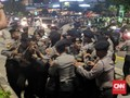 Aksi Ricuh, Polisi Tangkap Belasan Demonstran Depan Bawaslu
