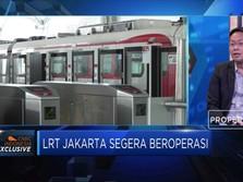 PSO LRT Jakarta Per Tahun Rp 169 Miliar