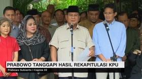 VIDEO: Prabowo Tolak Hasil Rekapitulasi KPU