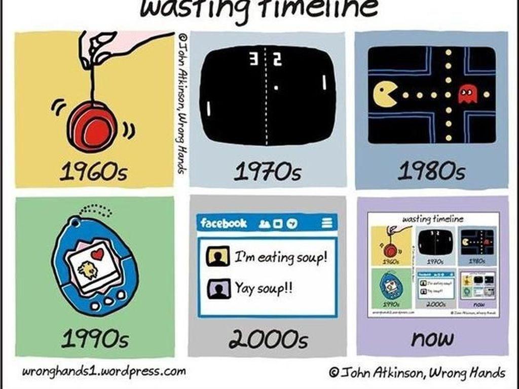 Kini semua permainan di masa lalu menjadi satu dalam satu ponsel. (Foto: justsomethingcreative)