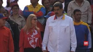 VIDEO: Maduro Rayakan Setahun Menang Pilpres Kontroversial