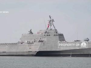 Kapal Perang AS Melintas Kawasan China Tanpa Izin