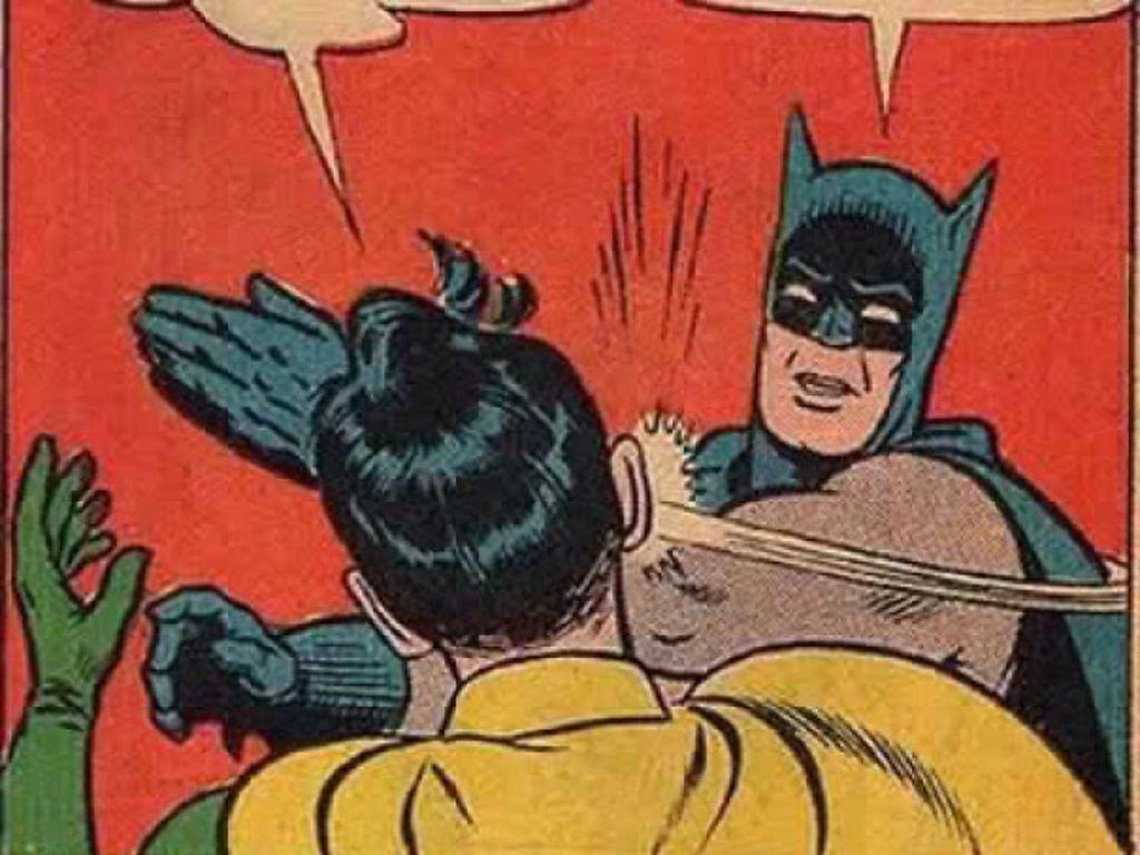 Kalau kata Batman, happy ending nggak penting. Yang penting itu endingnya masuk akal! (Foto: Boredpanda.com)