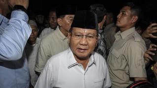 Prabowo Sebut Gerindra-PPP Bahas Kerja Sama di Legislatif