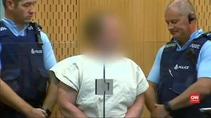 VIDEO: Pelaku Penembakan Chirstchurch Didakwa Pasal Terorisme