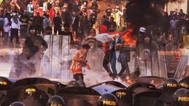 Demo 22 Mei Ricuh di Jakarta