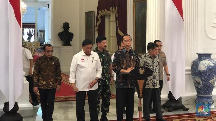 Kepala negara mengatakan tidak akan memberi ruang bagi para perusuh.
