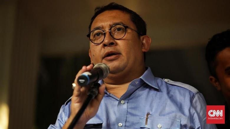 Soal Koalisi dengan PDIP, Fadli Singgung Timses Pilpres 2009
