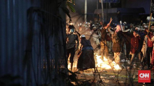 Polisi Tangkap Pemuda Terlibat Bentrok di Katamso