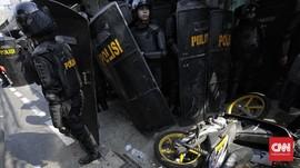 Polisi Ringkus 101 Orang Diduga Provokator Kerusuhan Bawaslu
