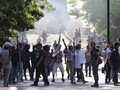 Polisi Selidiki Aksi Demonstran Bakar Pos Polisi di Pontianak