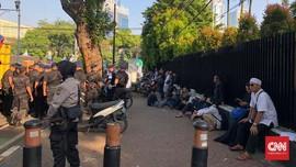 Antisipasi Demo 22 Mei di KPU, Polisi Tutup Jalan Imam Bonjol
