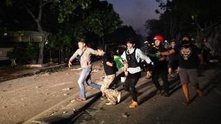 Dua Korban Peluru Karet Polisi Dilarikan ke RS Pelni