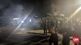 Pasukan Motor Maju, Massa Aksi Bawaslu Lari Tak Tentu Arah