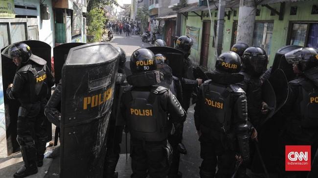 Sementara Kepala Dinas Kesehatan DKI Widyastuti mengatakan ada satu korban di RS Pelni, 2 korban di Budi Kemuliaan, 1 korban di Bintoharjo dan 1 korban di RSCM.(CNN Indonesia/Adhi Wicaksono)