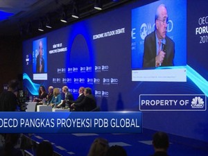 OECD Pangkas PDB Global Jadi 3,2%