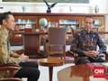 Jokowi Tanya AHY saat Tiba di Istana Bogor: Sendirian?