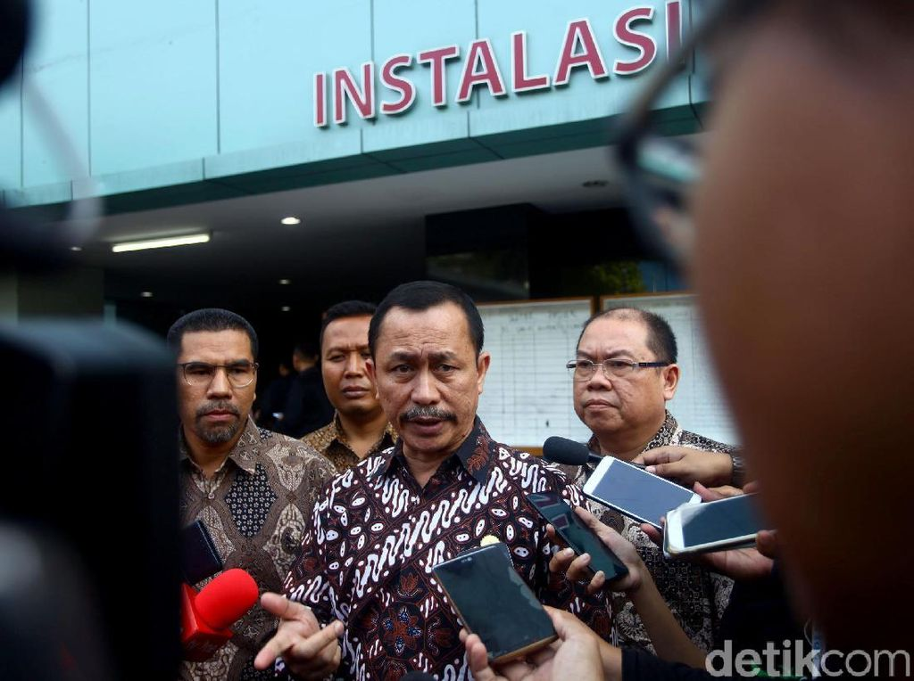 Tim Komnas HAM menjenguk korban kerusuhan Tanah Abang di RS Tarakan, Jakarta, Rabu (22/5/2019).