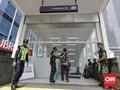 Kerusuhan 22 Mei, MRT Tutup Stasiun Bundaran HI