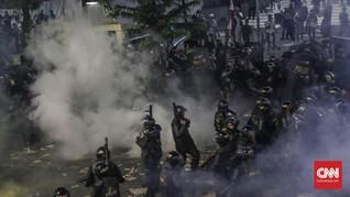 Massa Aksi 22 Mei Melewati Gedung KPU, Polisi Segera Bersiaga