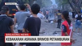 VIDEO: Kronologi Penyerangan di Asrama Brimob Petamburan