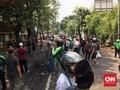 Massa Aksi 22 Mei Kembali Kuasai Jalan Slipi