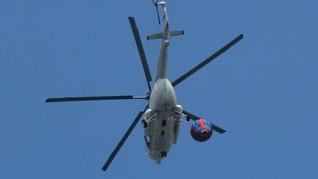 Helikopter Pengangkut Pekerja Tower BTS Ditembak di Papua