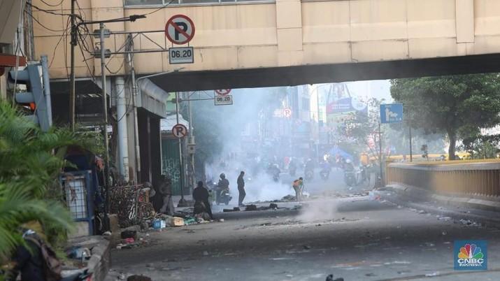 Aksi demo 22 Mei 2019 berdampak pada nasib pedagang di tanah abang