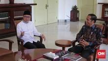 Zulkifli Hasan Bertemu Jokowi di Istana