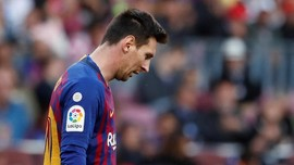 Van Gaal Tuding Messi Membuat Barcelona Merana