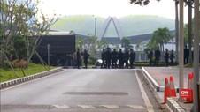 VIDEO: Tidak Ada Aktivitas, Gedung DPR/MPR Dijaga Ketat
