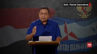 VIDEO: SBY Puji Pidato Prabowo-Jokowi Pascapengumuman KPU