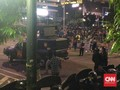 Massa Aksi 22 Mei di Bawaslu Kembali Rusuh, Api Berkobar