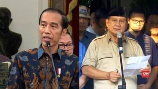VIDEO: Komentar Jokowi-Prabowo Soal Kerusuhan di Bawaslu