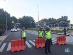 Cegah Massa ke Istana, Polisi Blokir Jalan Merdeka Barat