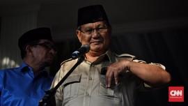 Prabowo Pantau Sidang di MK dari Ruang Kerja