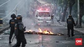 Massa Sempat Mundur, Polisi Sebut Kerusuhan Dipicu Provokator