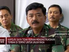 Preskon Panglima TNI : TNI dan POLRI Tetap Solid