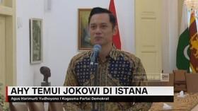 VIDEO: AHY Temui Jokowi di Istana Bogor