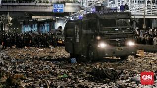 Polisi Ciduk 4 Tersangka Perusak Mobil Brimob di Aksi 22 Mei