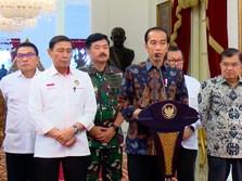 Jokowi: TNI-Polri Tindak Tegas Pembuat Rusuh