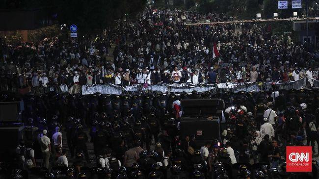 Suasana di Bawaslu Mulai Kondusif, Sebagian Massa Bubar